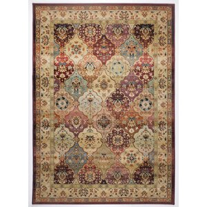 Classic Knotted Rug in Brown