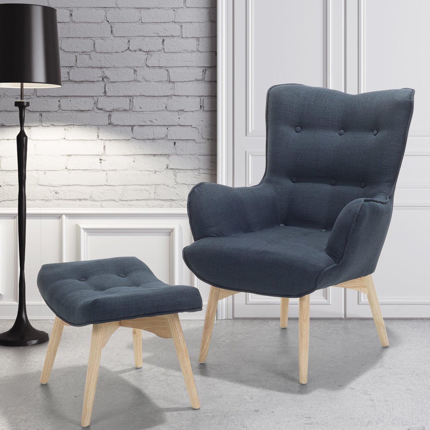 corrigan studio einzelsessel veze mit hocker bewertungen. Black Bedroom Furniture Sets. Home Design Ideas