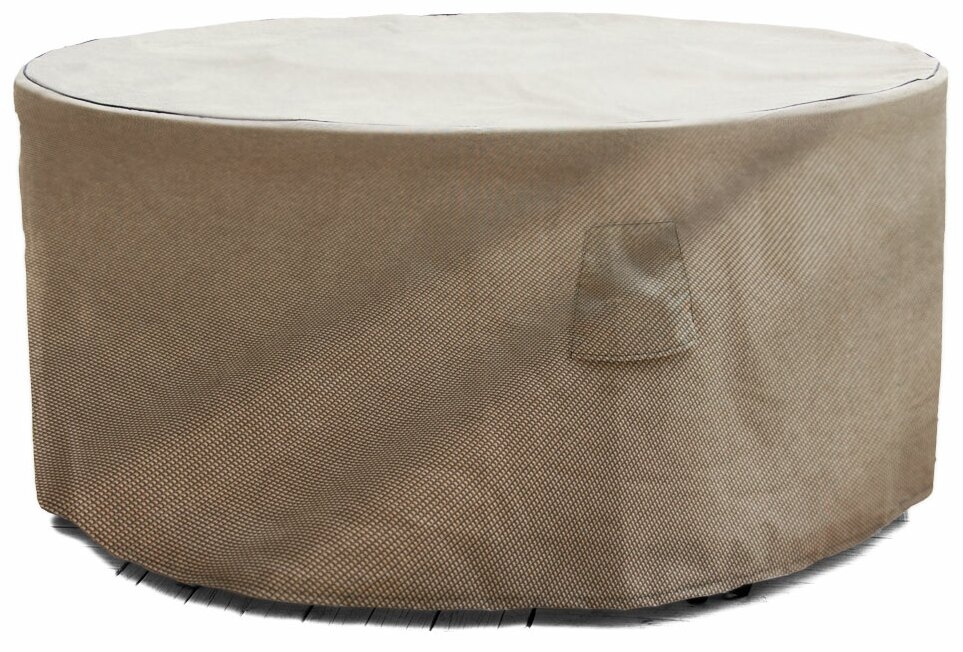 BudgeIndustries English Garden Round Patio Table Cover