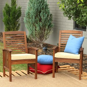 Amazing Widmer Dining Arm Chair With Cushion (Set Of 2)