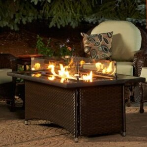 propane fire pit tables you'll love | wayfair