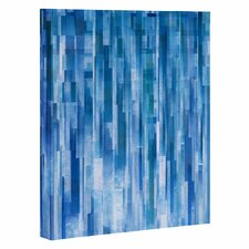 """Rain"" by Jacqueline Maldonado Graphic Art on Wrapped Canvas"