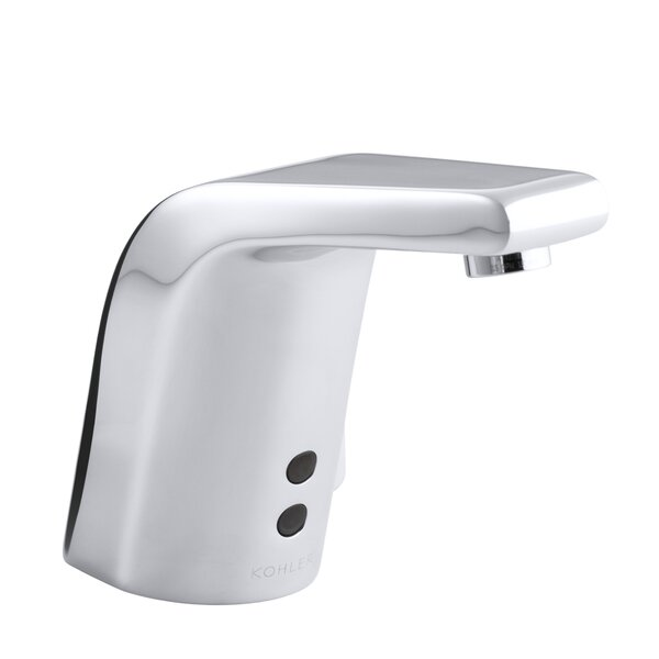 Kohler sculpted single hole touchless ac powered for Bathroom 4 less review