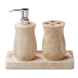 stone bathroom accessories you ll love wayfair