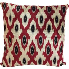 Flordeli Velvet Throw Pillow