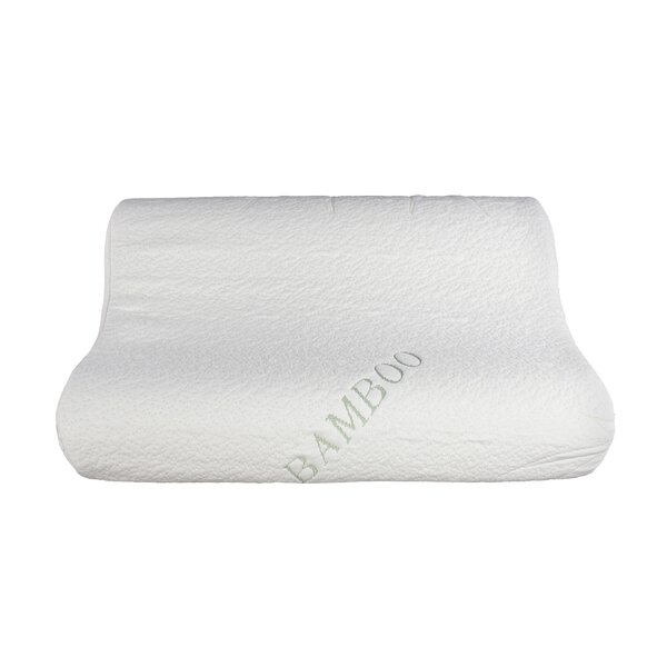 sinomax natural touch rayon from bamboo memory foam queen pillow u0026 reviews wayfair