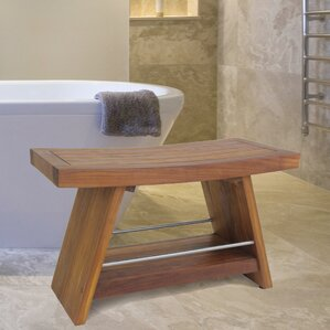 teak shower bench - Teak Shower Bench
