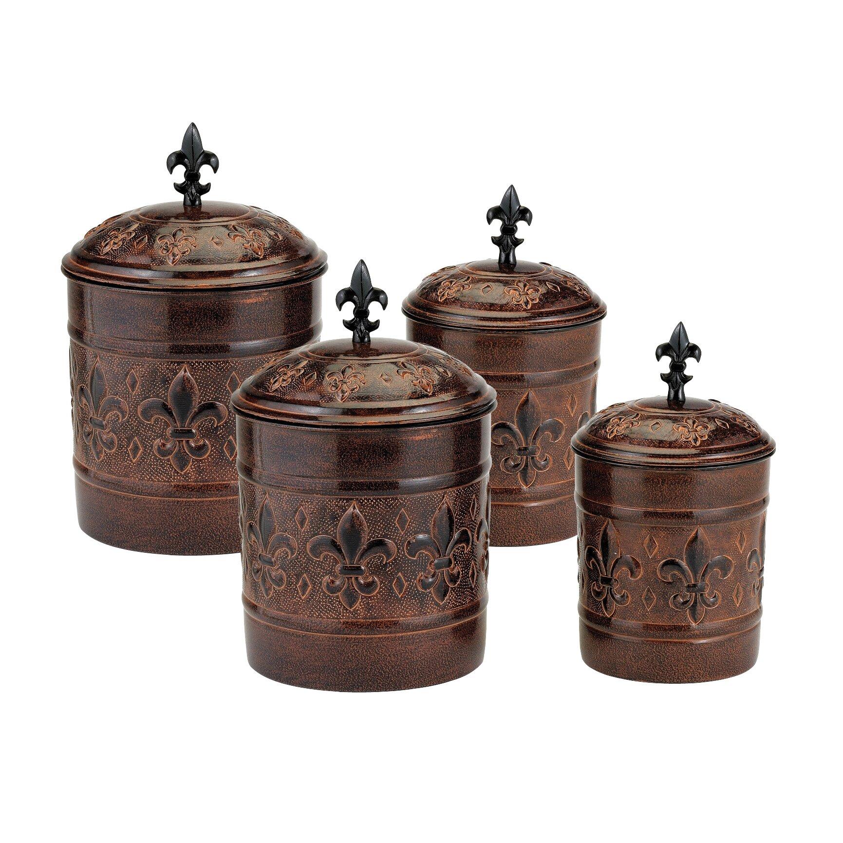 glass kitchen canisters airtight online get cheap airtight handmade kitchen canisters jars you ll love wayfair versailles 4 piece kitchen canister set