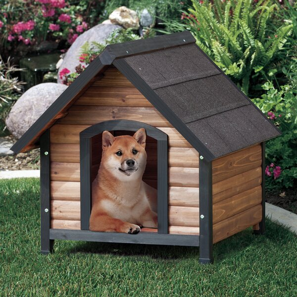 Precision Pet Products Extreme Outback Log Cabin Dog House Large