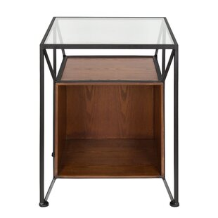 Goodspeed Record Storage End Table