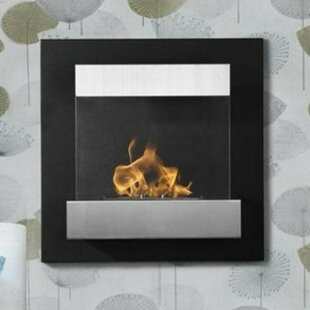 Melina Ventless Wall Mounted Ethanol Fireplace