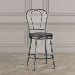 Odaniel Metal Back 26 Swivel Bar Stool