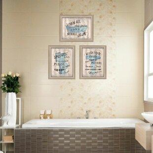 Funny Bathroom Wall Art Wayfair