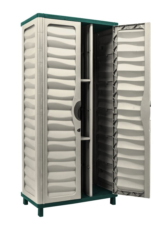 Partition For Storage In Garage : Starplast vertical partition quot h w d