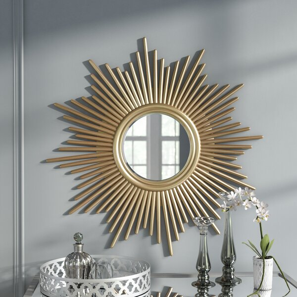 Willa Arlo Interiors Josephson Modern Sunburst Accent Mirror Reviews Wayfair