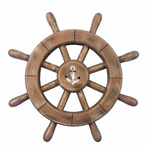 Wooden Anchor Wall Decor nautical wall accents you'll love | wayfair
