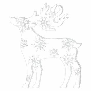 christmas standing reindeer decoration set of 4