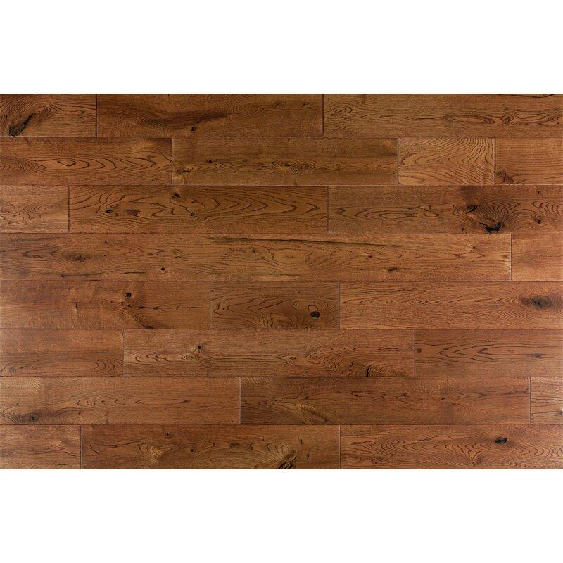Welles Hardwood Daphne French 6 Solid Oak Hardwood Flooring In
