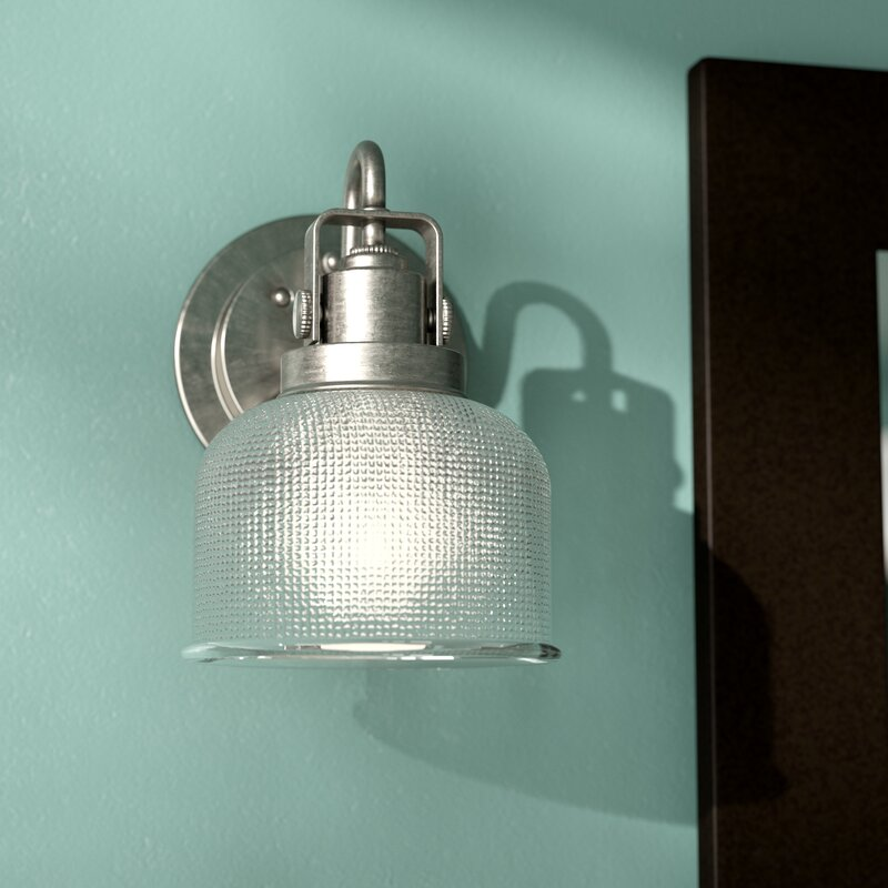 Beachcrest Home Gotha 3 Light Vanity Light Reviews: Gotha 1-Light Bath Vanity Light & Reviews