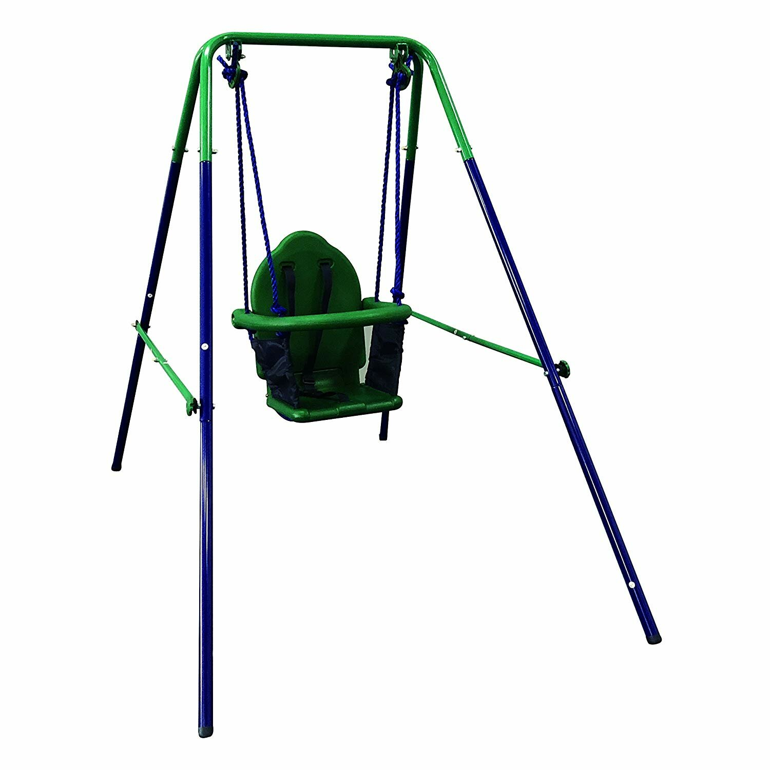 Outdoor Baby Swing >> Toddler Baby Swing Portable Indoor Outdoor Folding Safety Chair Playground