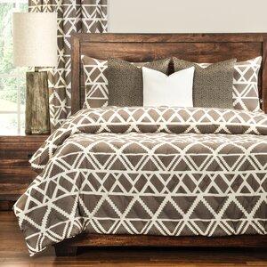 Geo Tribe 3 Piece Comforter Set