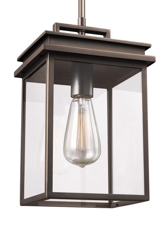 Krupa 1 Light Outdoor Hanging Lantern