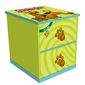 Scooby Doo 2 Drawer Nightstand by O'Kids Inc.