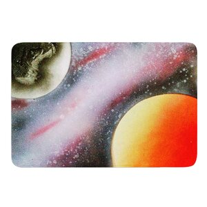 Alignment by Infinite Spray Art Memory Foam Bath Mat