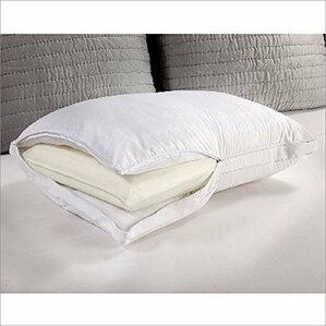 Posturepedic Comfort Cover and Memory Core Foam Pillow by Luxury Home