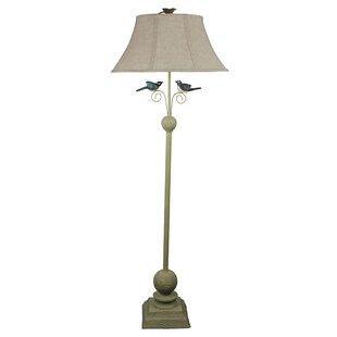 Lime green floor lamp wayfair 62 floor lamp aloadofball Choice Image
