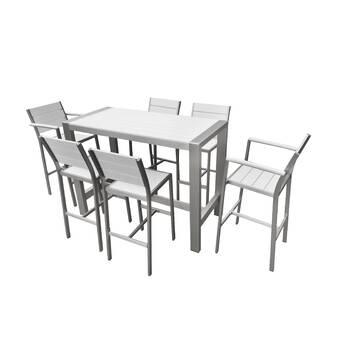 Claudio 11 Piece Dining Set & Reviews | AllModern