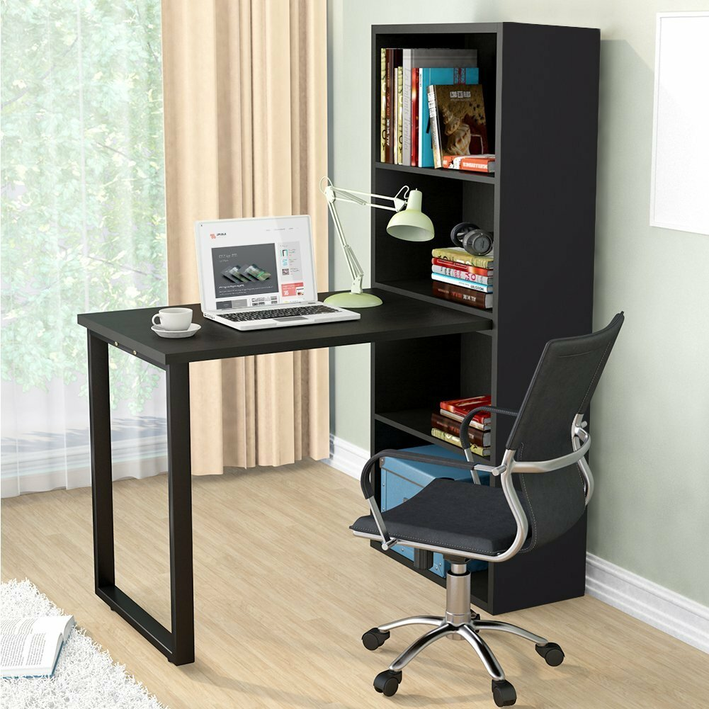 Beau Latitude Run Madelon Modern Stylish Hobby Desk | Wayfair