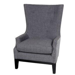 Draper Wing back Chair by Porter International Designs
