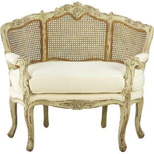 Cane Half Back Armchair