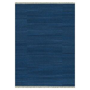 Anzio Hand-Woven Blue Area Rug