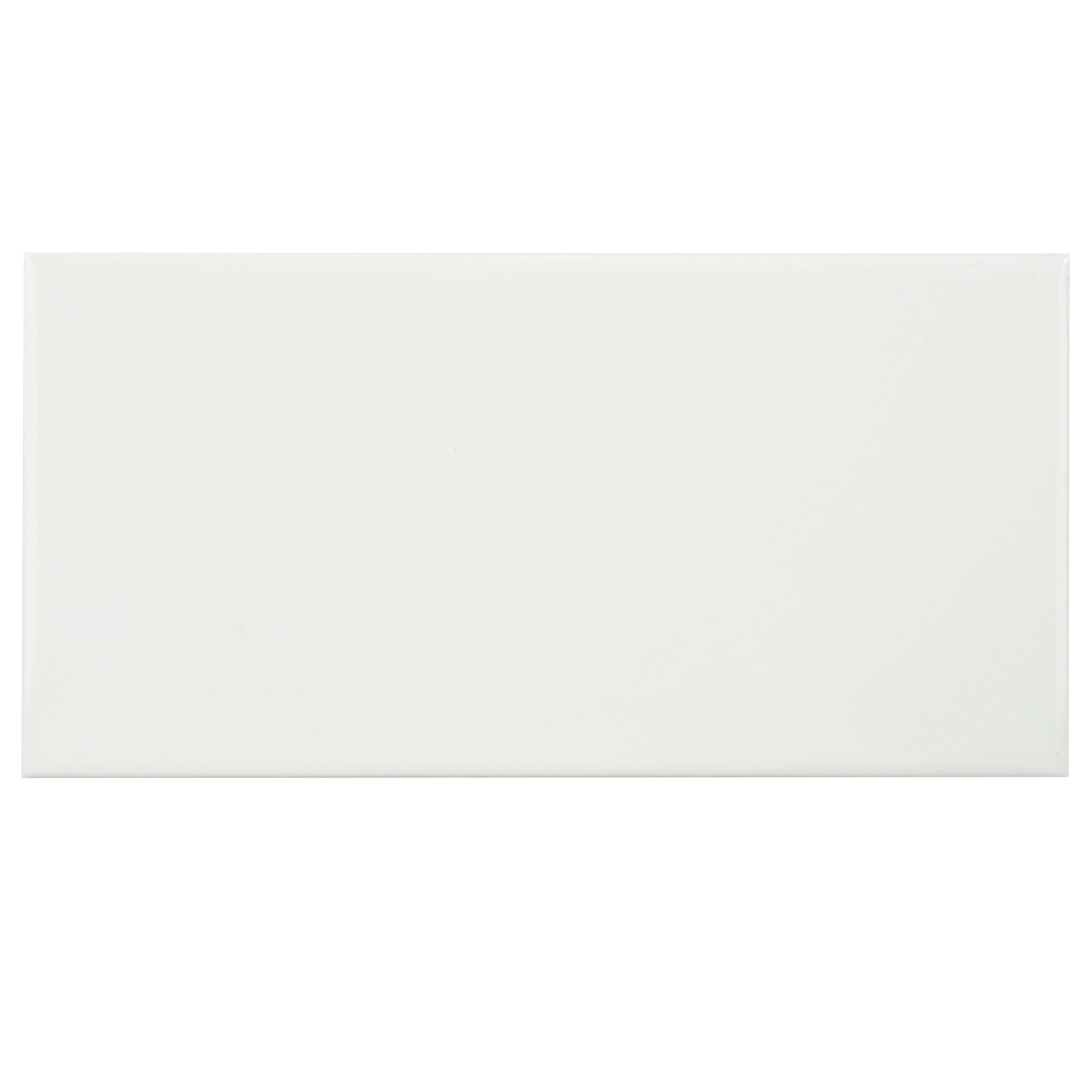 Elitetile prospect 3 x 6 ceramic subway tile in glazed white elitetile prospect 3 x 6 ceramic subway tile in glazed white reviews wayfair dailygadgetfo Image collections