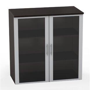 Medina Glass Door Accent Cabinet