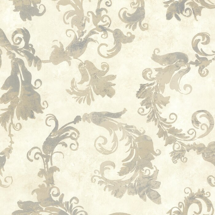 Lana Scrolling Trail 10m x 52cm Wallpaper Roll