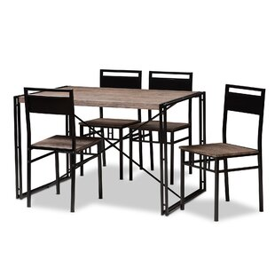 Mizell 5 Piece Dining Set