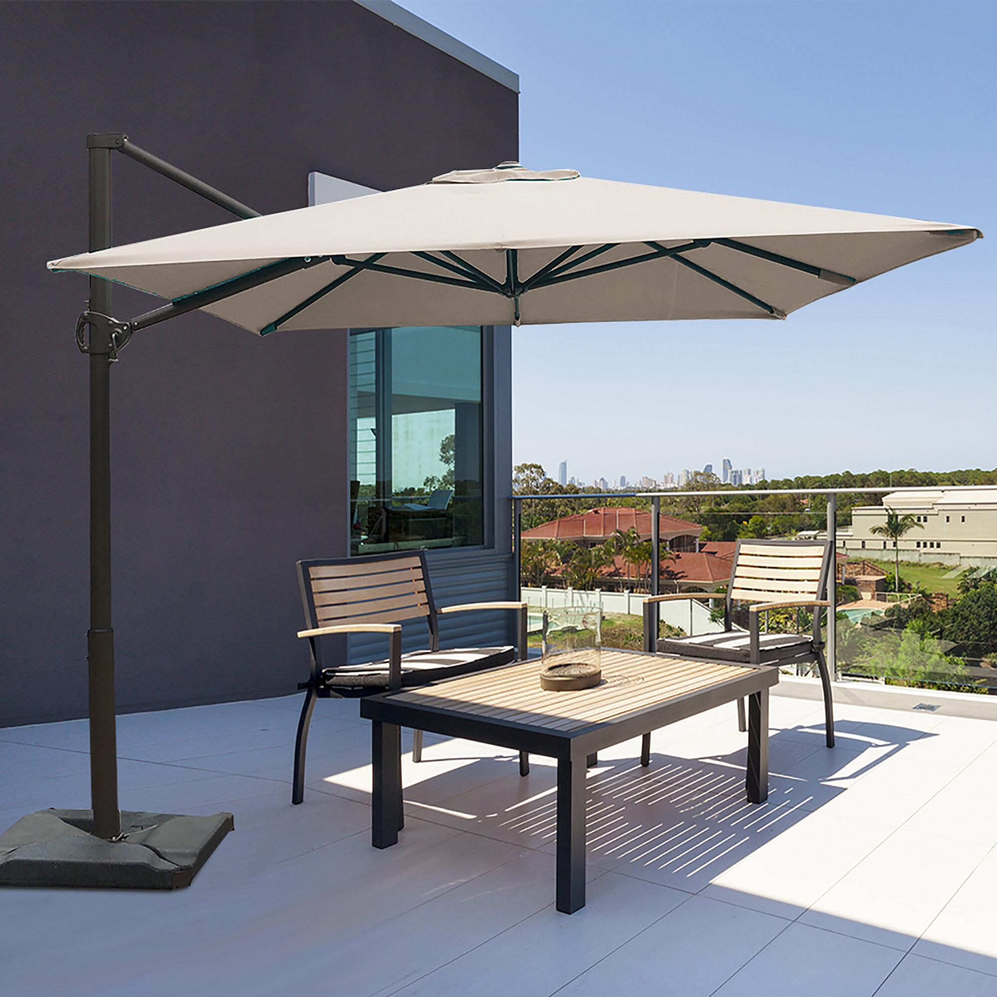 90939945754b Fordwich 8' x 10' Rectangular Cantilever Umbrella