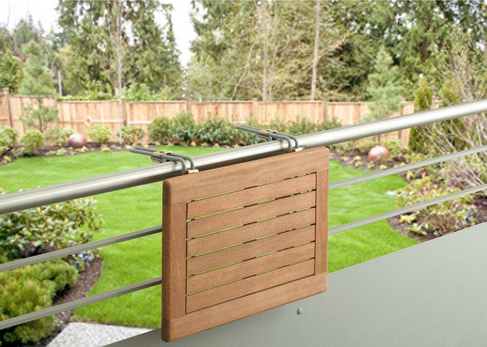 garten living klappbarer balkontisch lobelia bewertungen. Black Bedroom Furniture Sets. Home Design Ideas
