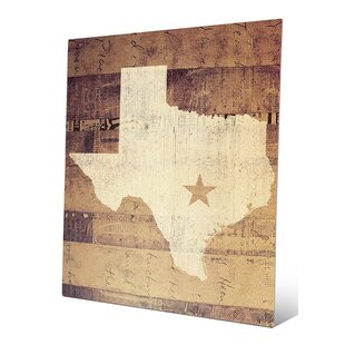 Texas Rustic Graphic Art