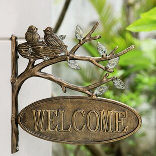 Image result for garden welcome sign