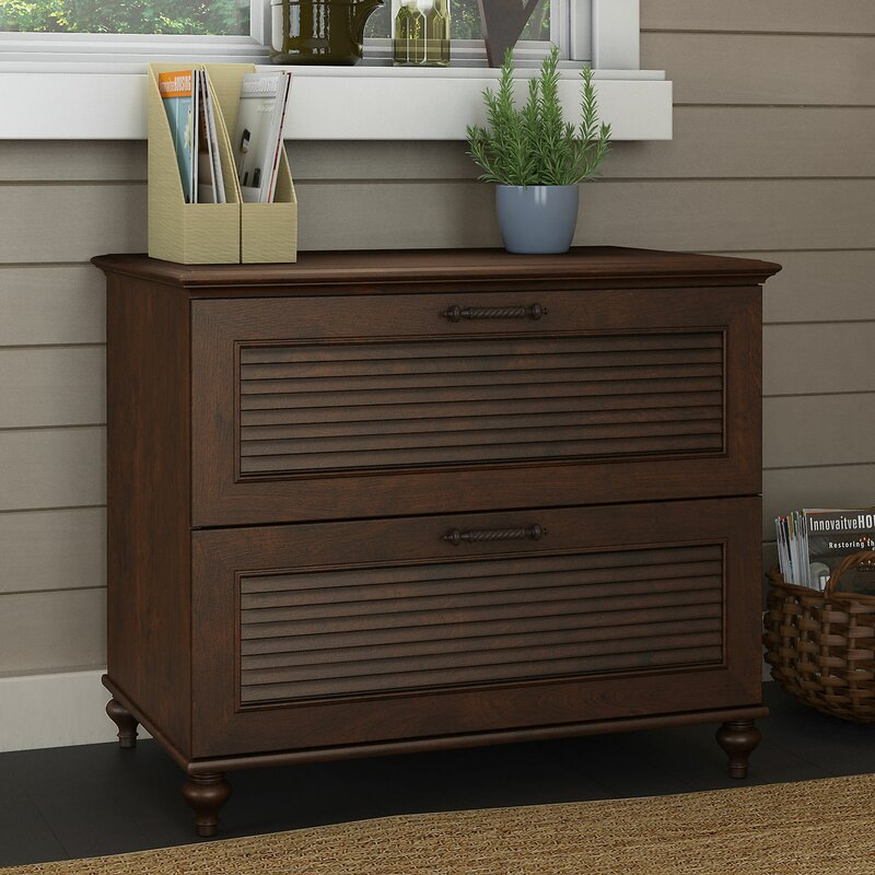 Kathy Ireland Home By Bush Furniture Volcano Dusk 2 Drawer