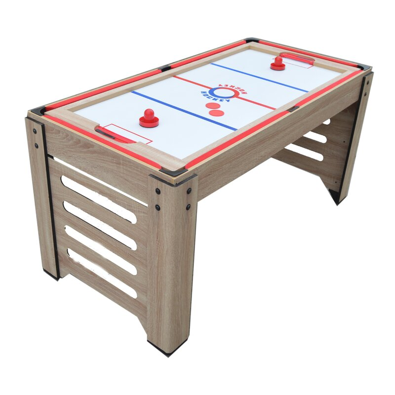 Madison Multi Game Table With Foosball, Glide Hockey, Table Tennis,  Billiards, Shuffleboard And Bowling