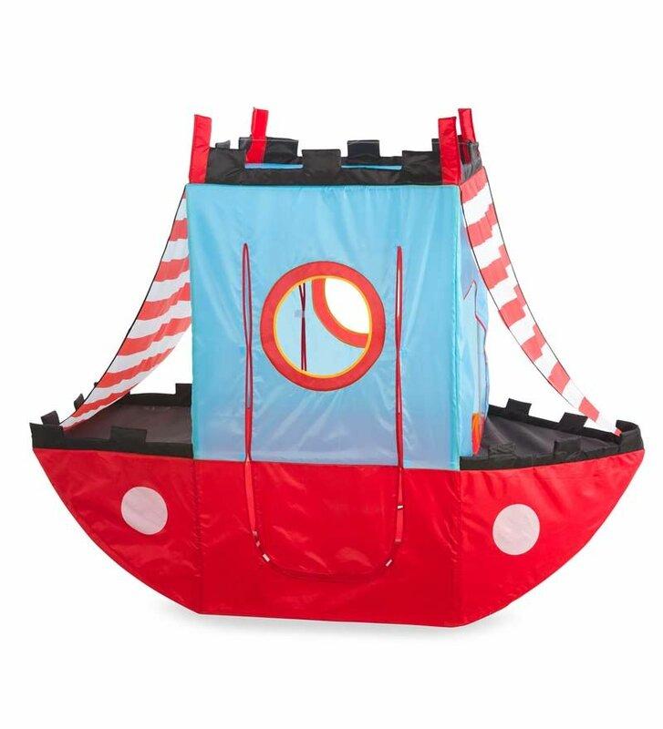 Pirate Ship Play Tent  sc 1 st  Wayfair & Magic Cabin Pirate Ship Play Tent u0026 Reviews | Wayfair