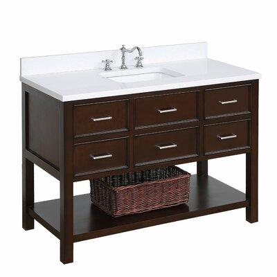 Kbc New Hampshire 48 Quot Single Bathroom Vanity Set Wayfair