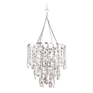 crystal pendant lighting. Simeon Diamond Ensemble 1-Light Crystal Pendant Lighting