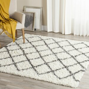 Laurelville Ivory / Dark Gray Area Rug