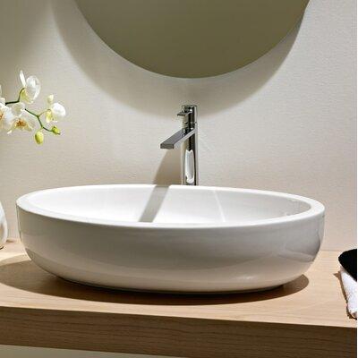 Bathroom Sinks Oval fine fixtures vitreous china thin edge oval vessel bathroom sink